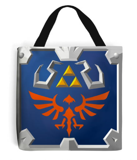Legend of Zelda Hylian Shield Design Tote Bag